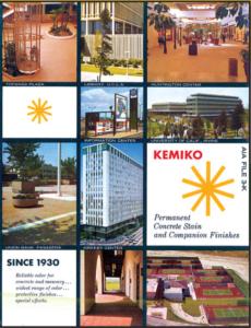 About Kemiko - Retro Kemiko Ad Showcasing Several LA Area Applications