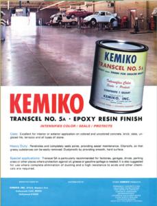 About Kemiko - Retro Kemiko Ad for Transcel Epoxy