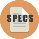 Architectural and Construction Specifications Icon